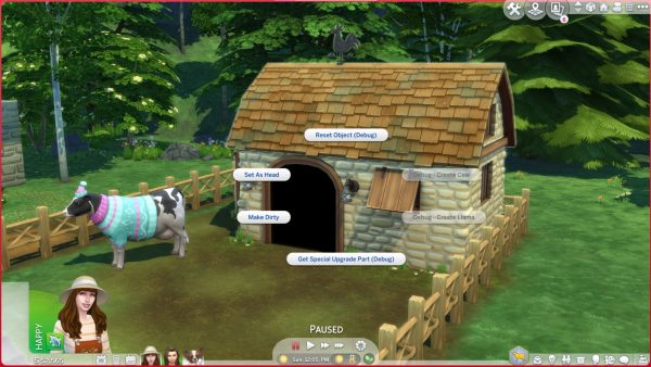 Sims 4 Cottage Living Cow Llama Cheats