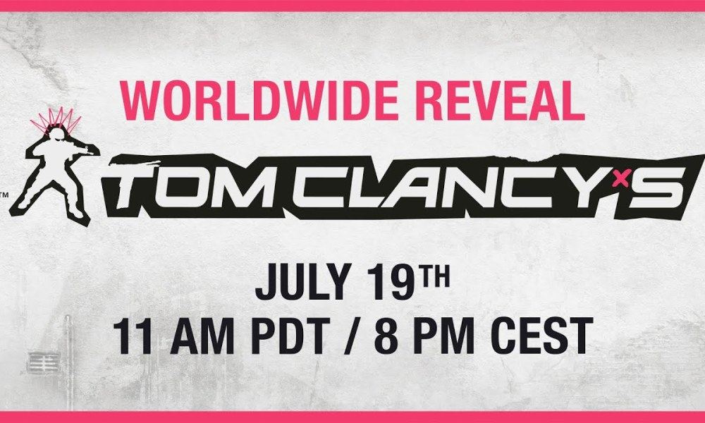 New Tom Clancy's Game Will Be Revealed by Ubisoft Tomorrow