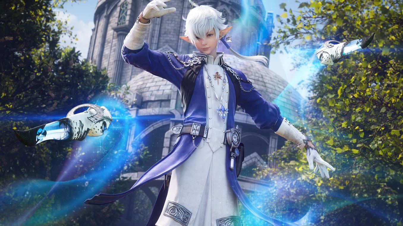 Final Fantasy XIV Endwalker Gets Handsome Alphinaud Sage CGI Art