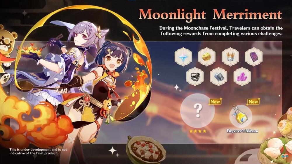 Genshin Impact Moonlight Merriment