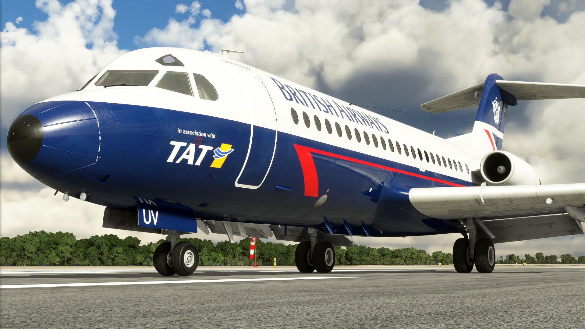 Microsoft Flight Simulator Fokker