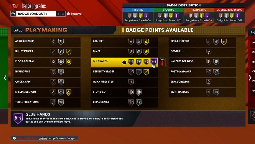 NBA 2K22 WNBA Badges