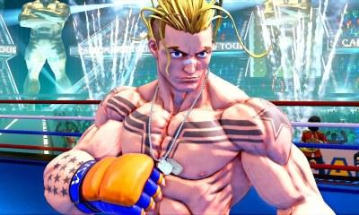 Street Fighter V Luke