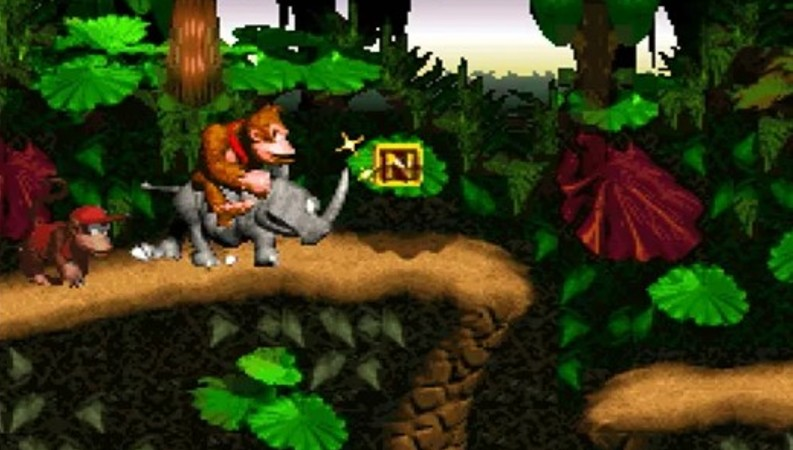 Super Nintendo franchises (Donkey Kong Country)