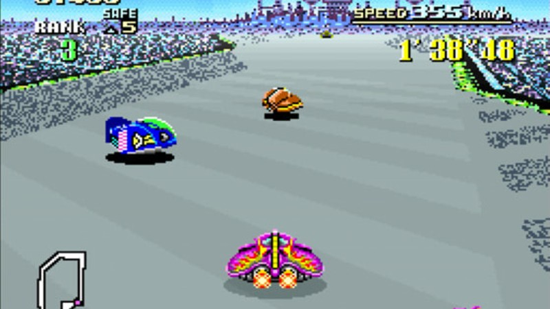 Super Nintendo franchises (F-Zero)