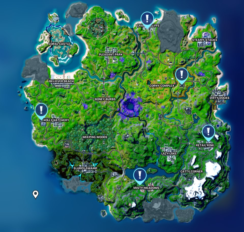 fortnite phone booth locations