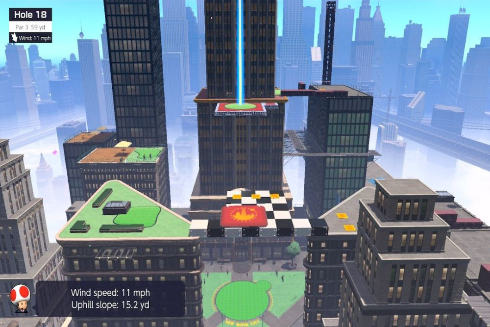 Mario Golf: Super Rush New Donk City