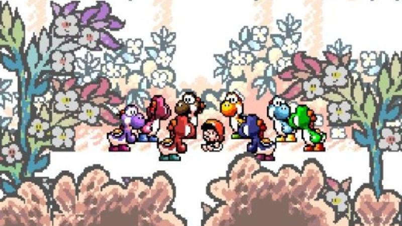 Super Nintendo franchises (Yoshi's Island)