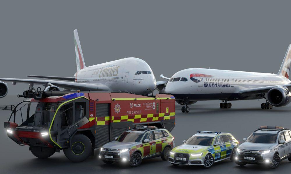 Microsoft Flight Simulator Stockholm Bromma Airport Releases Tomorrow; Glasgow Announced; Palma de Mallorca & More Get New Screenshots