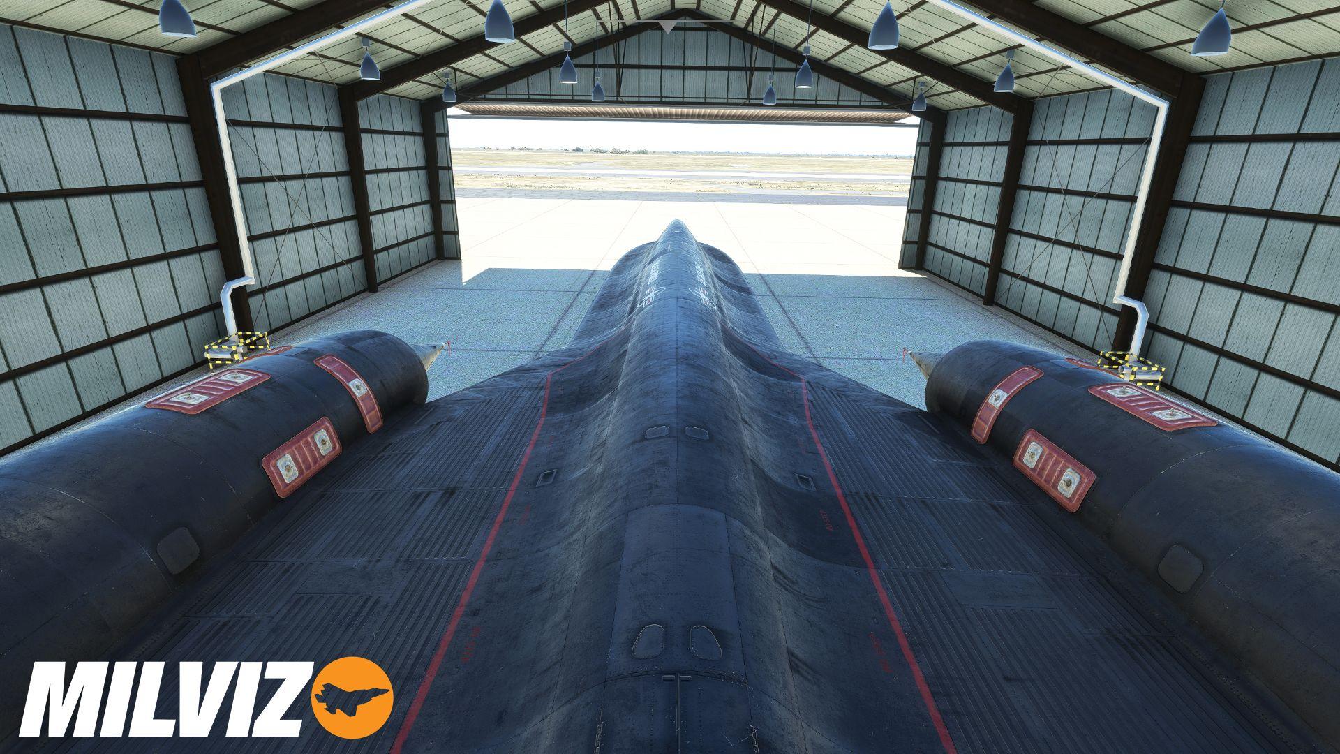 Microsoft Flight Simulator SR-71