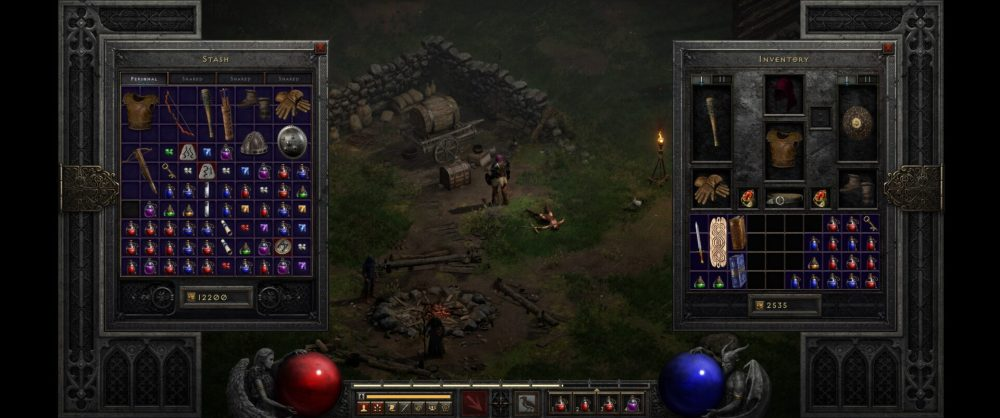 diablo 2 resurrected inventory size