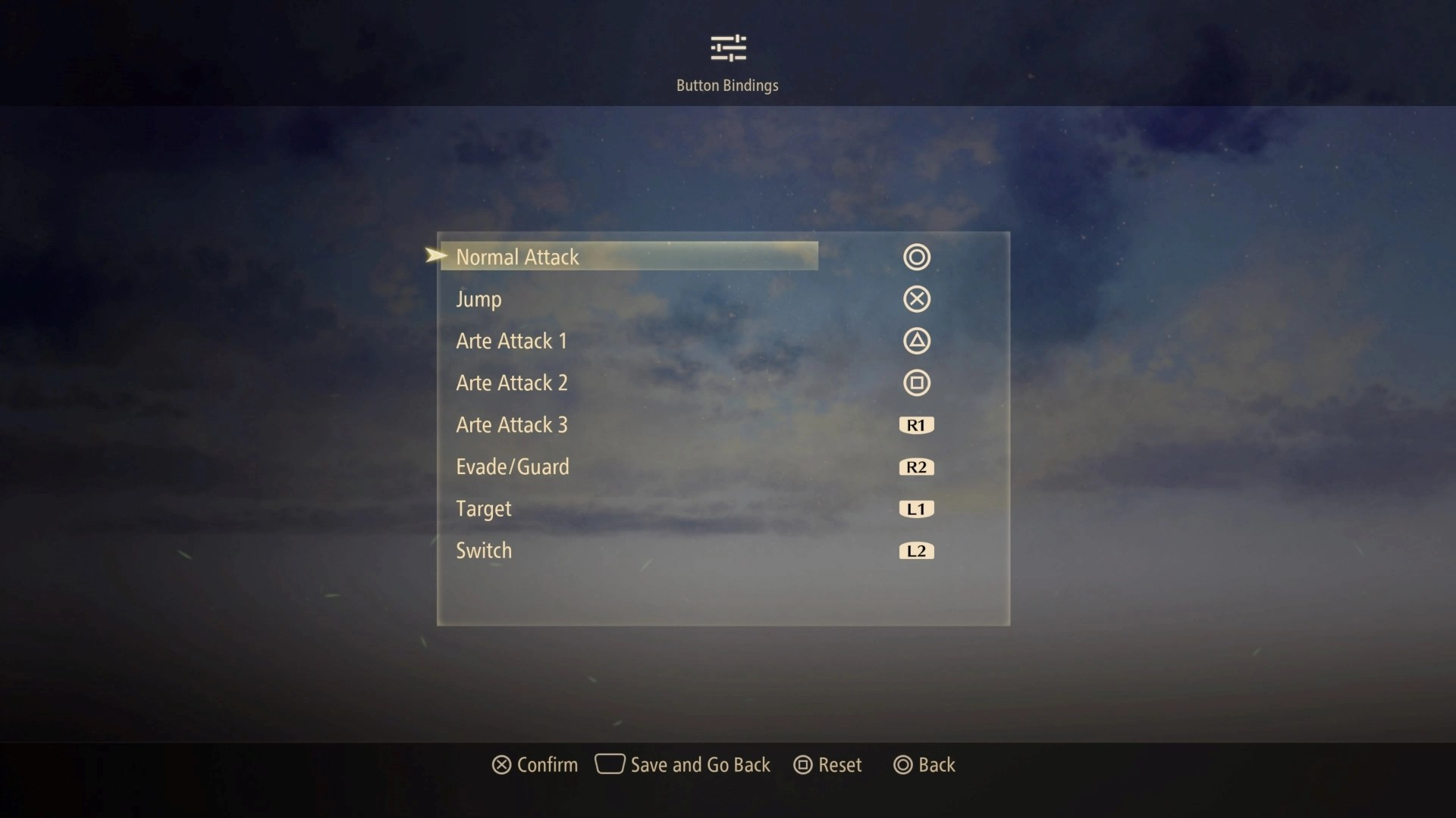 tales of arise controls