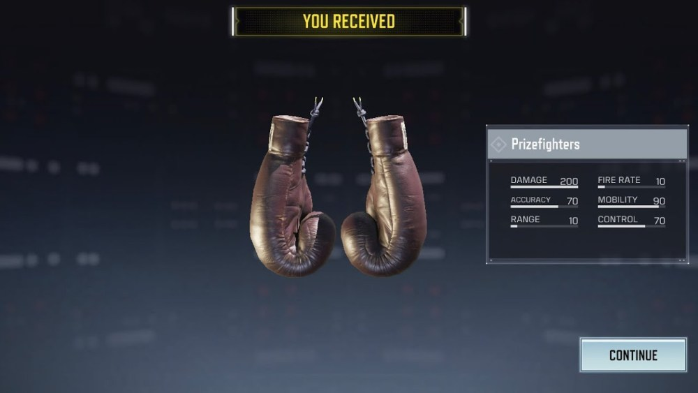 cod mobile prizefighters