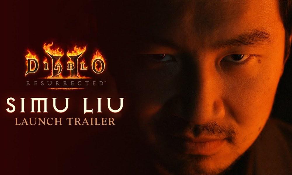 Simu Liu Stars in a New Live-Action Trailer for Diablo 2: Resurrected