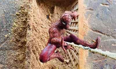 Spider-Man, Wood Art, Carving, Woodart Vietnam