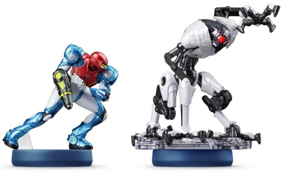 Metroid Dread: Amiibo Functionality Explained - The amiibos in question