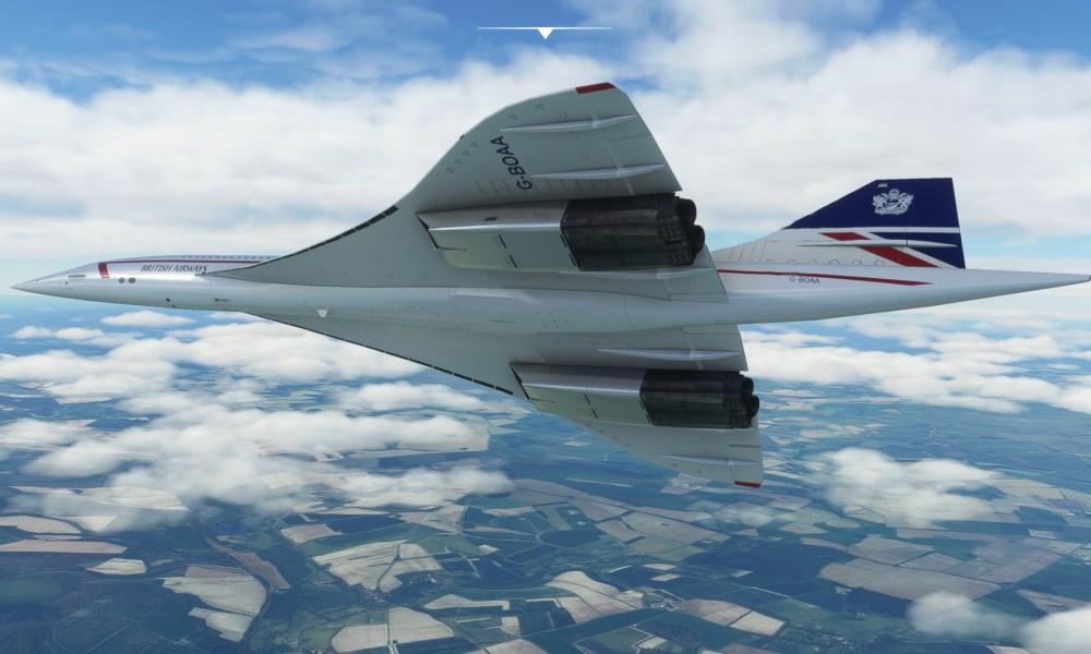 Microsoft Flight Simulator Concorde, F-16, Kodiak, & Black Widow Get Screenshots & Videos; Nuremberg Airport Revealed & Vágar Released