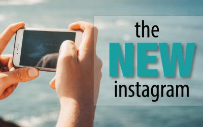 The NEW Instagram