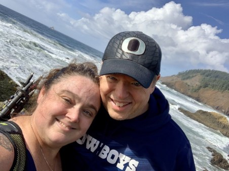 Why did my twin flame and I cheat? To find our way to moments like this one, captured at Ecola State Park in October 2020. We're not happy that we caused others pain, but we're happy that we've fulfilled many soul contracts along the way.