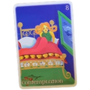8 of Cups from The Oracle Tarot