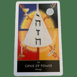 Cone of Power Tarot Card