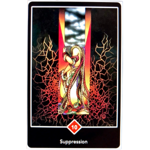 Suppression Oracle Card