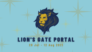 Lion's head and dates for 2021 Lion's Gate Portal