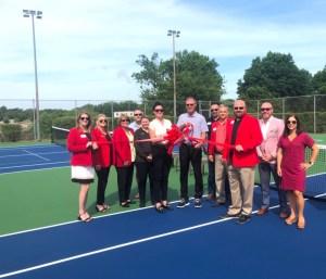 Tennis Facility | Ribbon Cutting | Joplin Area Chamber of Commerce