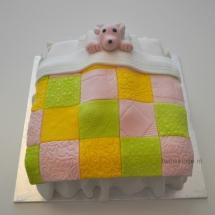 Muis in bed - taart