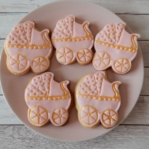Baby shower koekjes