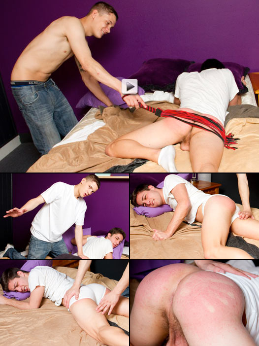 twink on twink spanking punishment