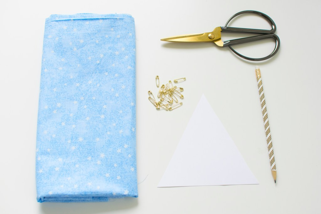 DIY Fabric Baby Diaper Favor