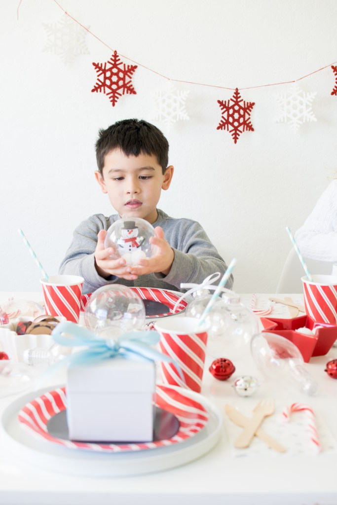 Host a Christmas Ornament Making Birthday Party