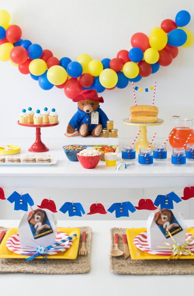 How to throw an adorable Paddington Themed Party #Paddington #Paddington2 #PaddingtonParty