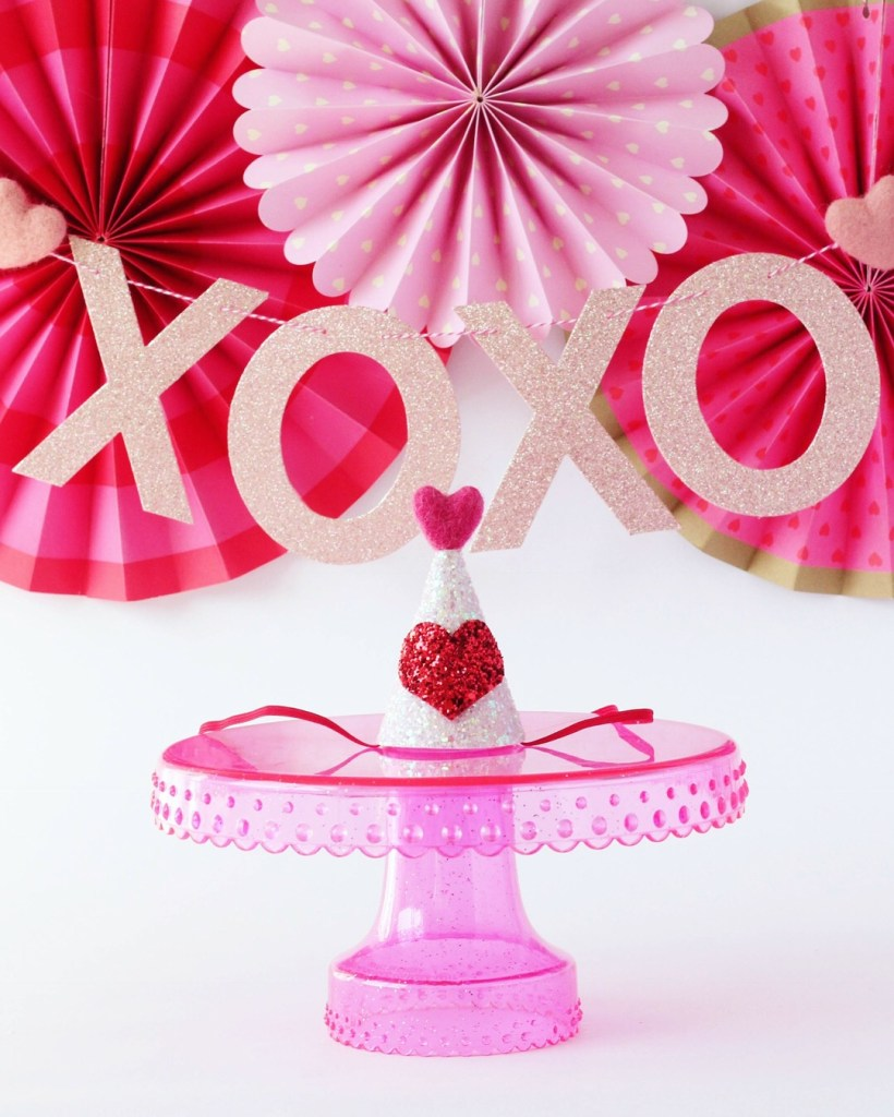 Valentine's Day Birthday Hat