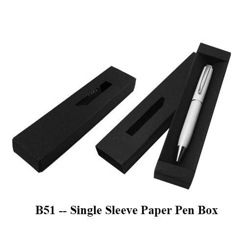 B51 — Single Sleeve Paper Pen Box