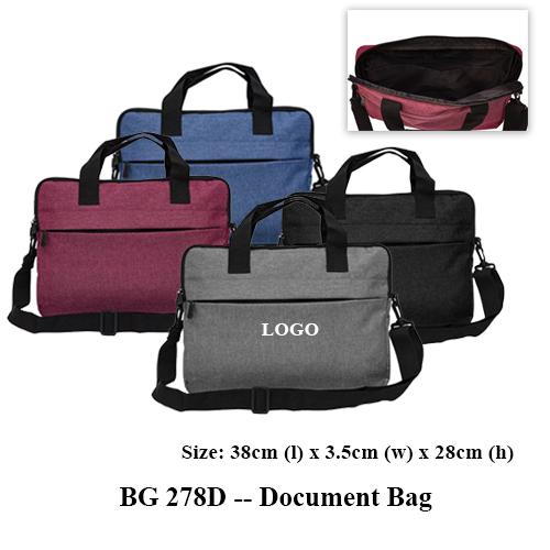 BG 278D — Document Bag