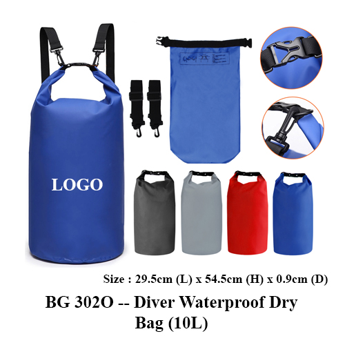 BG 302O — Diver Waterproof Dry Bag (10L)