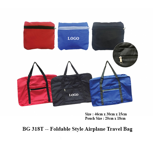 BG 318T — Foldable Style Airplane Travel Bag