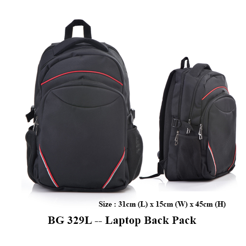 BG 329L — Laptop Back Pack