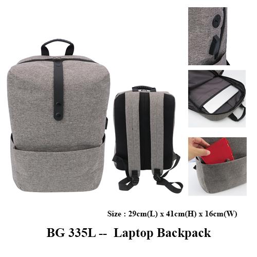 BG 335L —  Laptop Backpack