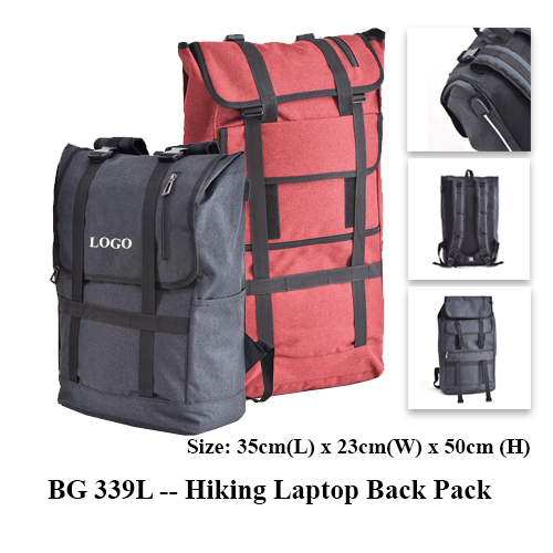 BG 339L — Hiking Laptop Back Pack