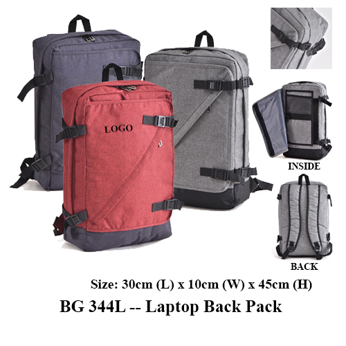 BG 344L — Laptop Back Pack