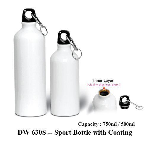 DW 630S — Sport Bottle with Coating