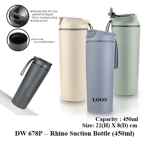 DW 678P — Rhino Suction Bottle (450ml)