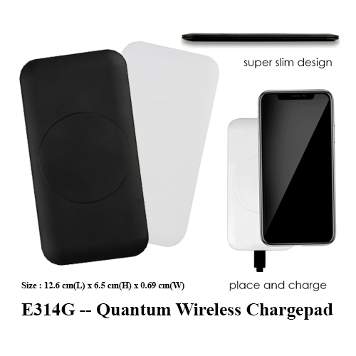 E314G — Quantum Wireless Chargepad
