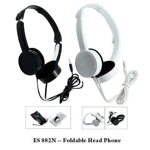 ES 882N — Foldable Head Phone