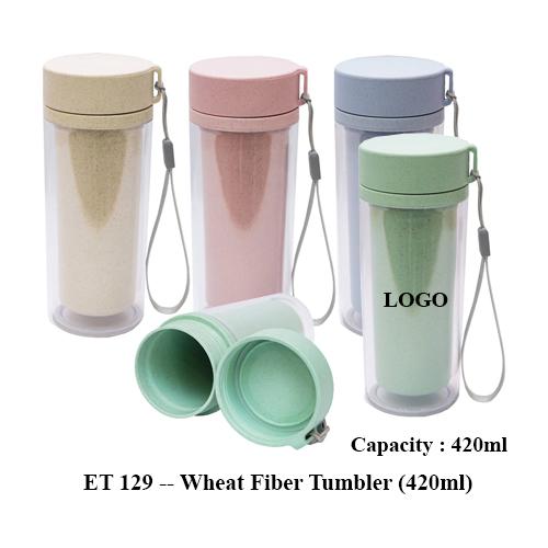 ET 129 — Wheat Fiber Tumbler (420ml)
