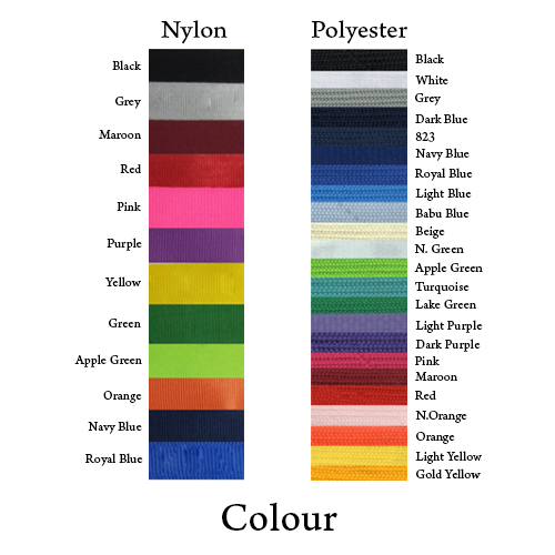 Material — Colour for Nylon and Polyester