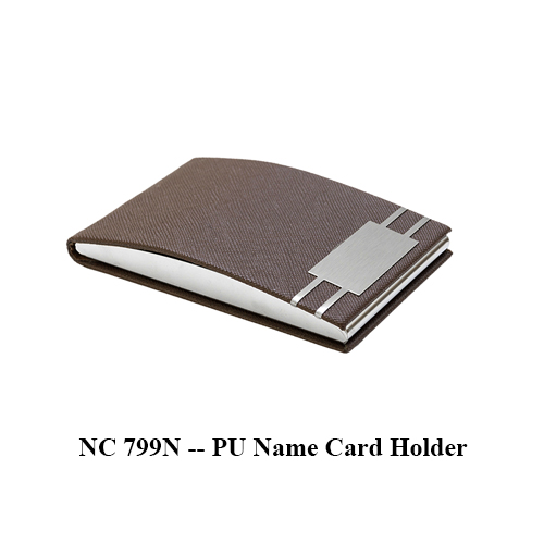NC 799N — PU Name Card Holder